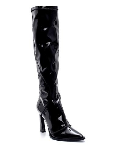Derimod Kadın Çizme (53615) Klasik Siyah